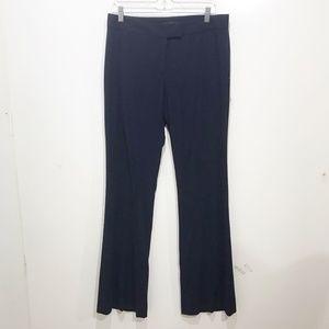 Antonio Melani Size 8 Navy Blue Dress Pants Solid